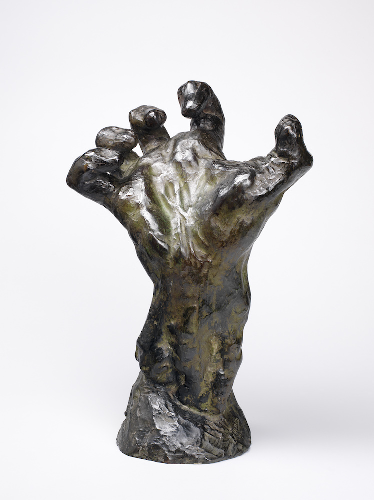 Grande main crispée (Mighty hand): Private Collection