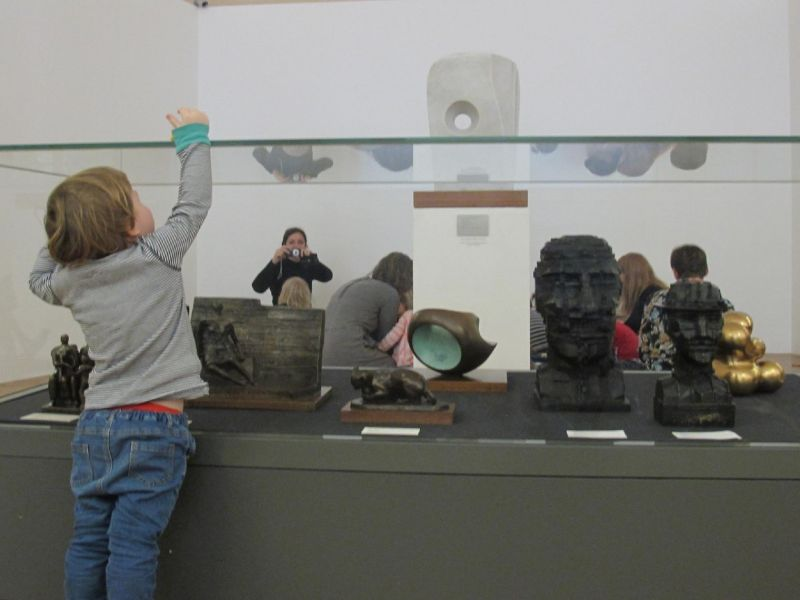 young children in gallery 27