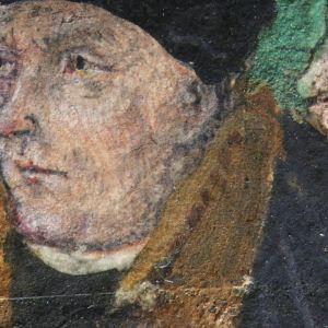 Portrait of Thomas Cromwell - Copyright.Paola Ricciardi/St John's College Cambridge