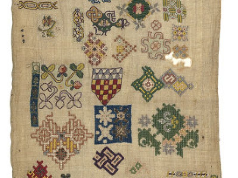 Spot motif sampler, c.1620–40
