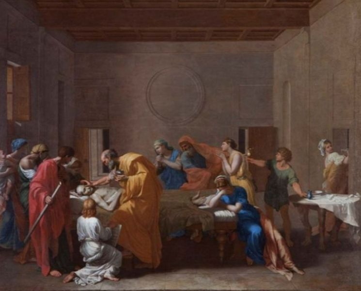 A highlight image for Poussin masterpiece goes on tour