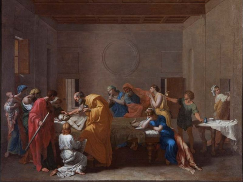 Highlight image for Poussin's virtual reality