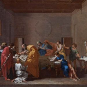 Extreme Unction by Poussin