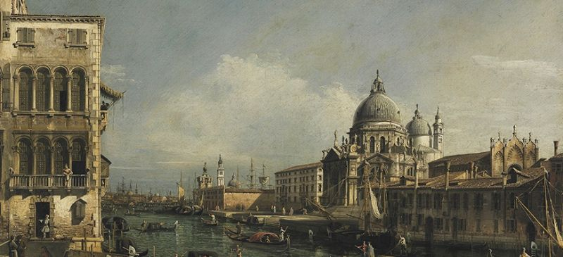 Featured image for the project: View of the Grand Canal, Venice